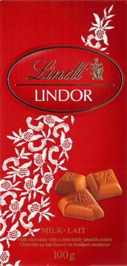 Lindt Milk Chocolate pieces