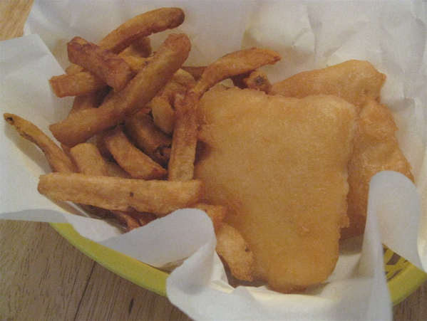 Fish and chips from The Fish Hut in Kitchener