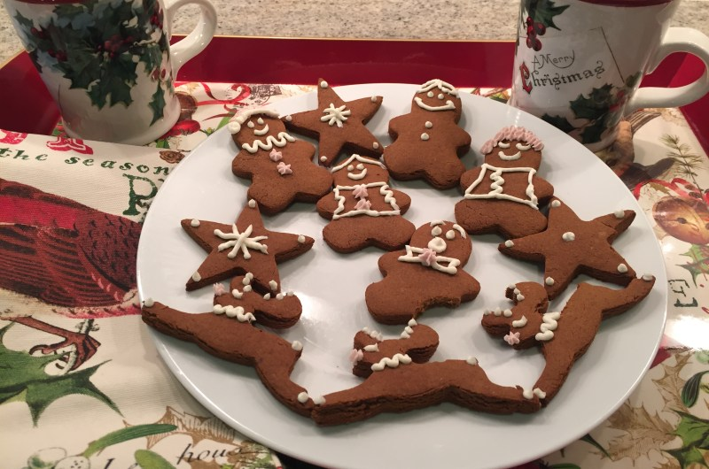 AIP Gingerbread Cookies and  Frosting