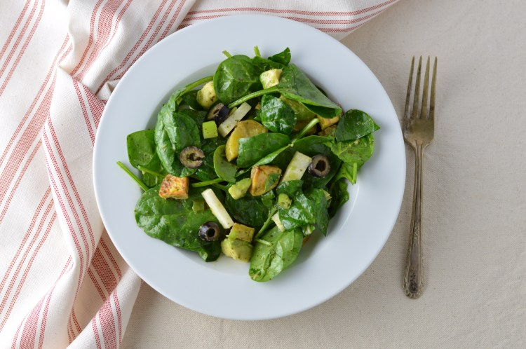 Southwest Spinach Salad