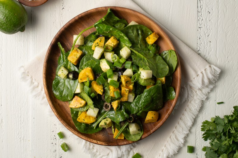 Southwest Spinach Salad (AIP/Paleo)