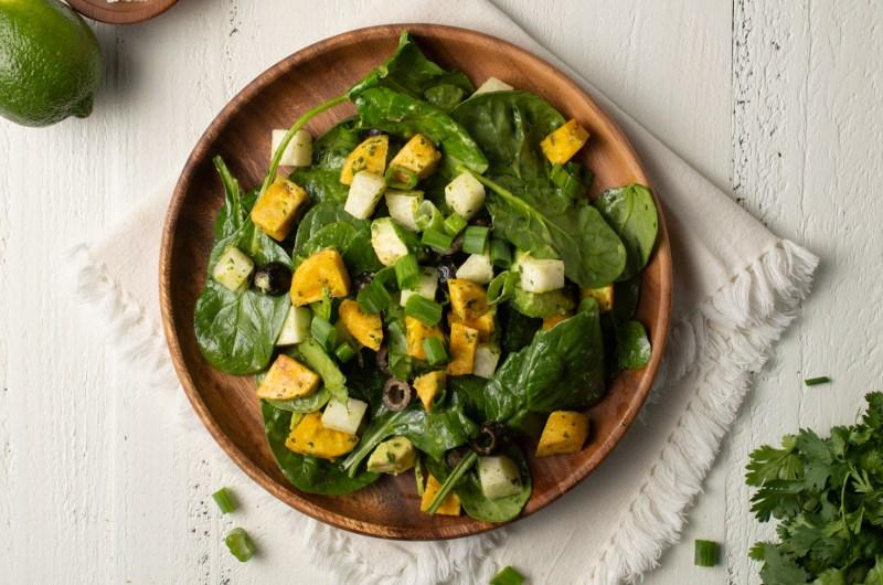 Southwest Spinach Salad (AIP/Paleo)