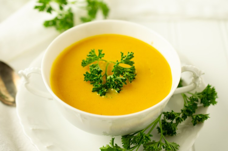 Irish Carrot Soup (AIP/Paleo)