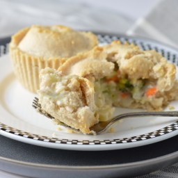 Mini Chicken Pot Pies (AIP, Paleo)