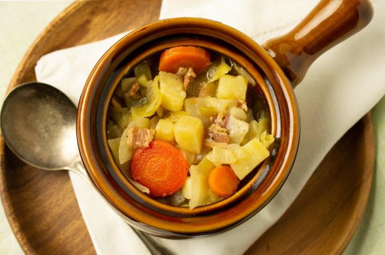 Irish Cabbage and Potato Soup