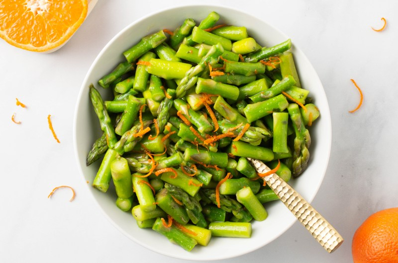Spring Orange Asparagus (AIP/Paleo)