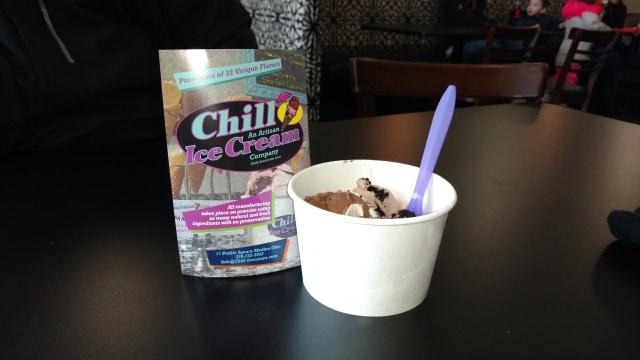 Chill Wendi's ice cream