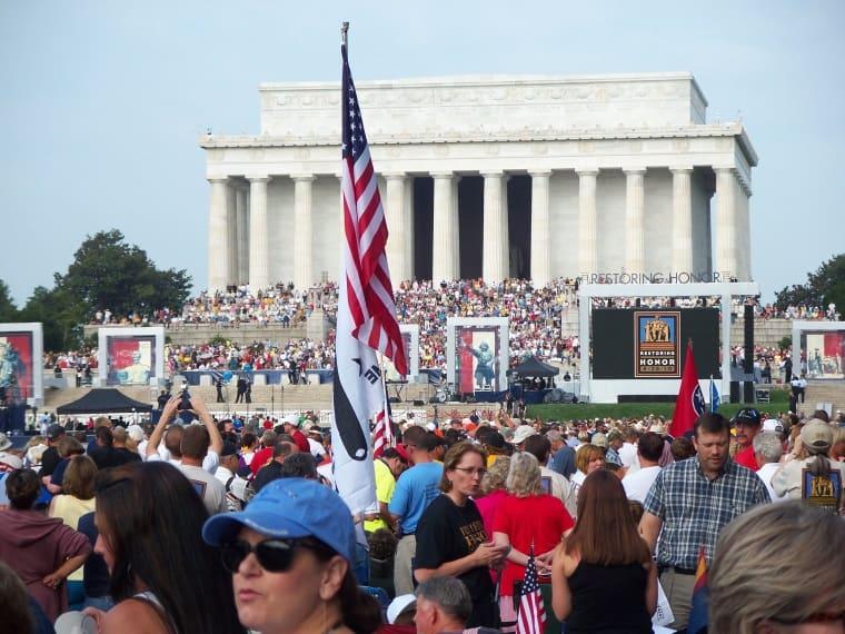 Washington Lincoln Memorial 8_28