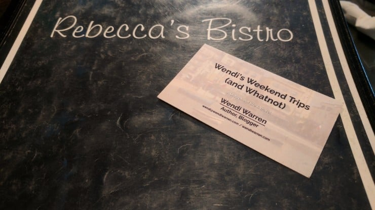 Rebecca's Bistro:  Not Your Typical Amish Fare