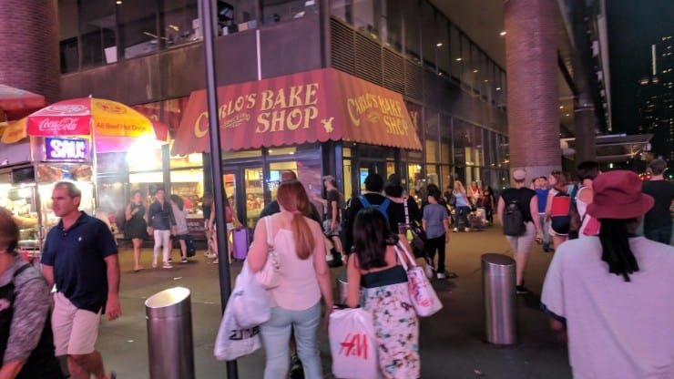 The Cake Boss in Manhattan has the Best What?