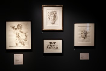 Wendy Artin: Rocks, Paper, Memory Exhibit, statues from Antiquity