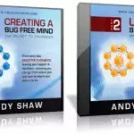 "Andy Shaw – A Bug Free Mind, Video 1 ""The Backbone of Success!"""