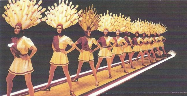The BigLebowski-DancersI n Line (Wendy Braun is 2nd from the front)