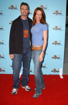 Wendy Braun + Josh Coxx at  Joe Francis Birthday Celebration. Magic Mountain, Valencia, CA. 05-11-06