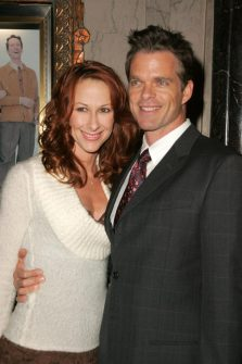 """Wendy Braun + Josh Coxx at the Opening of """"Irving Berlin's White Christmas"""". Pantages Theatre,"""