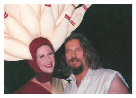 Wendy Braun + Jeff Bridges in The Big Lebowski
