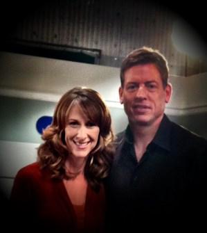Wendy Braun + Troy Aikman