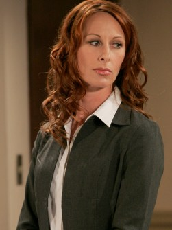 Wendy Braun as Ms. Sneed in General Hospital