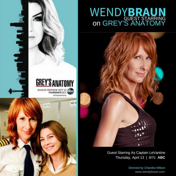 Grey\'s Anatomy (ABC) – Wendy Braun