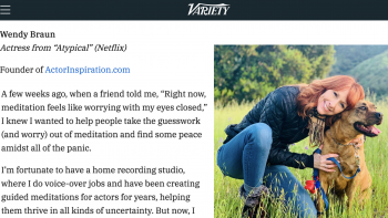 Featured in Variety