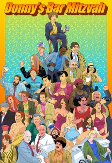 Donnys Bar Mitzvah - poster