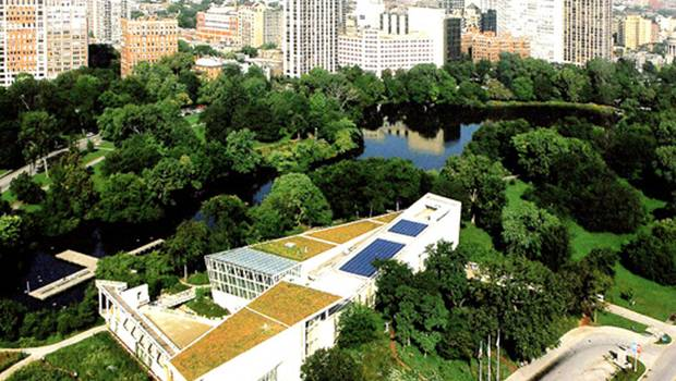 Awesome Peggy Notebaert Nature Museum Roof System U2013 Green Roofs