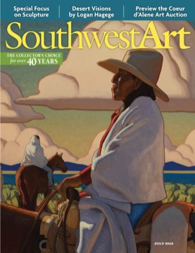 July 2013 Southwest Art