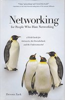 Cover for hardcover version of Networking for People Who Hate Networking