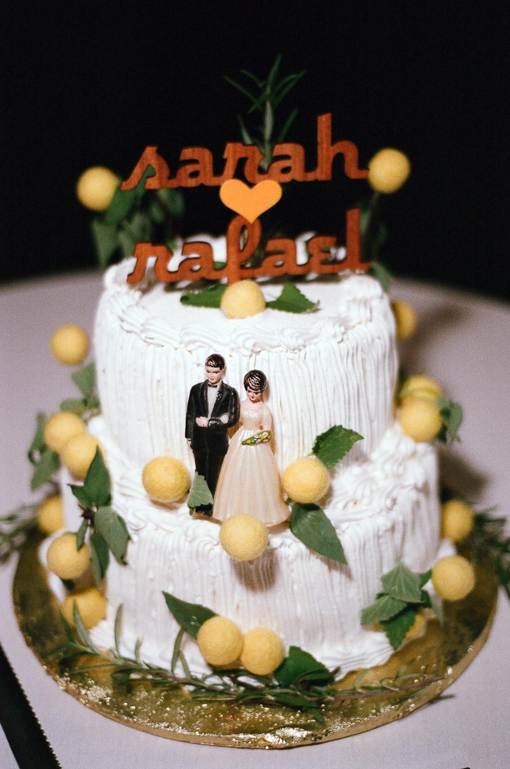 Hamptons wedding cake