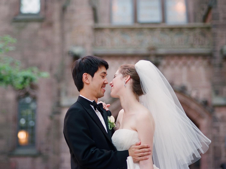 yale wedding couple wendy g