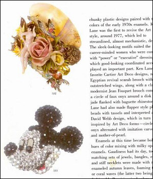 A Bright Pavé Mickey pin and a wonderful Lady of the Lake Wristy from the above book.
