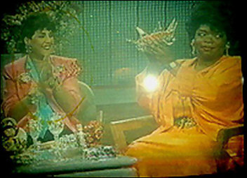 Wendy on the Oprah show a week before she went national.