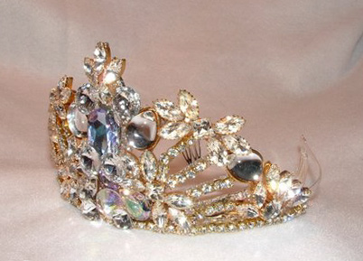 Regal Tiara by renowned Fashion Jewelry Designer Wendy Gell