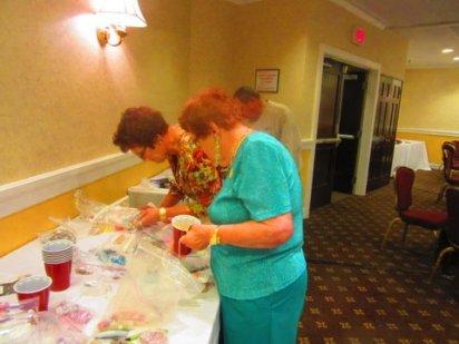 CJCI jewelry making workshop, 2015 convention in Rhode Island