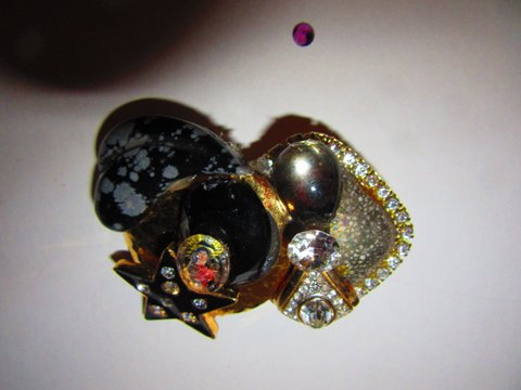 Madonna Brooch pin by jewelry designer Wendy Gell