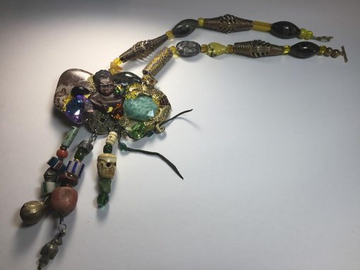 African Baby Necklace : Complete necklace