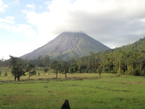 Arenal volcano - still active