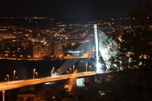 Coimbra City by night