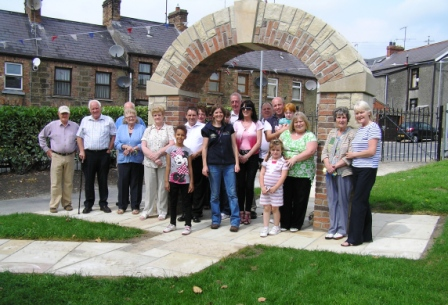 Milltown History Arch