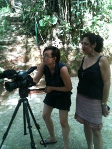 Filming Earth Water Woman