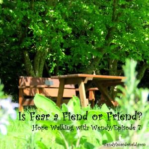 Is Fear a Fiend or Friend? Wendy L. Macdonald wendylmacdonald.com