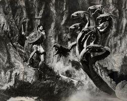 "Ray Harryhausen's Hydra in ""Jason and the Argonauts"" (1963)"