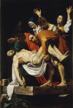 "Caravaggio, ""The Entombment"" (1602-04)"