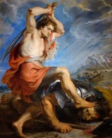 "Peter Paul Rubens, ""David Slaying Goliath"" (1616)"