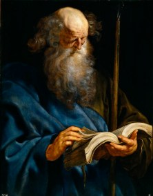 "Peter Paul Rubens, ""St. Thomas"""