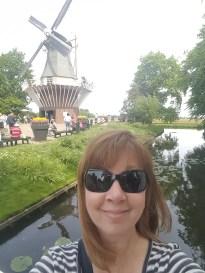 Keukenhof Gardens windmill