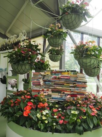 Keukenhof Gardens book display