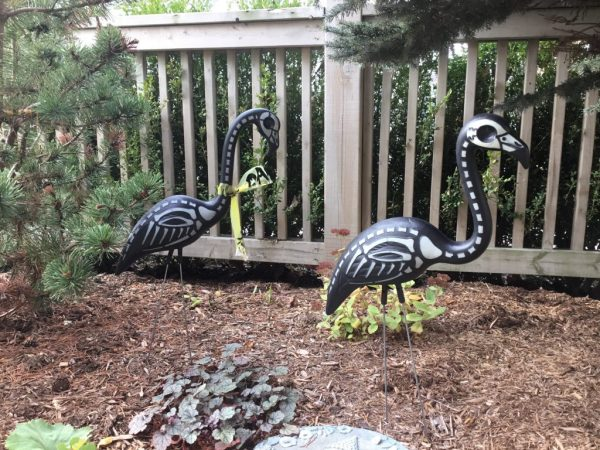 Wendy's Little Inklings: Flamingo Friday, Zombie Style