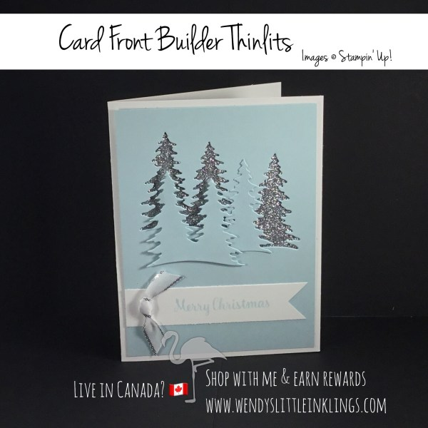 Wendy's Little Inklings: Merry Christmas with the Card Front Builder Thinlits