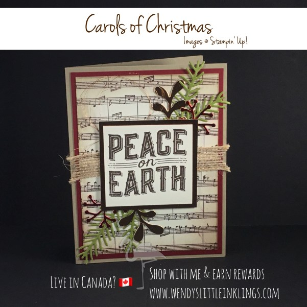 Wendy's Little Inklings: Carols of Christmas & Peace on Earth on Flamingo Friday